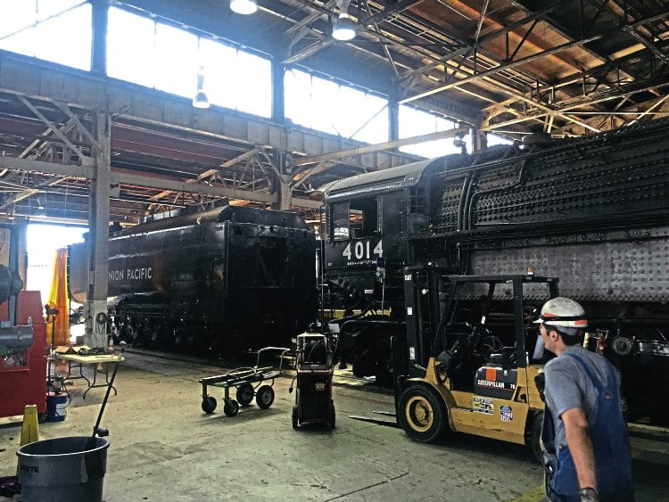 Us Big Boy Overhaul Started By Union Pacific Heritage
