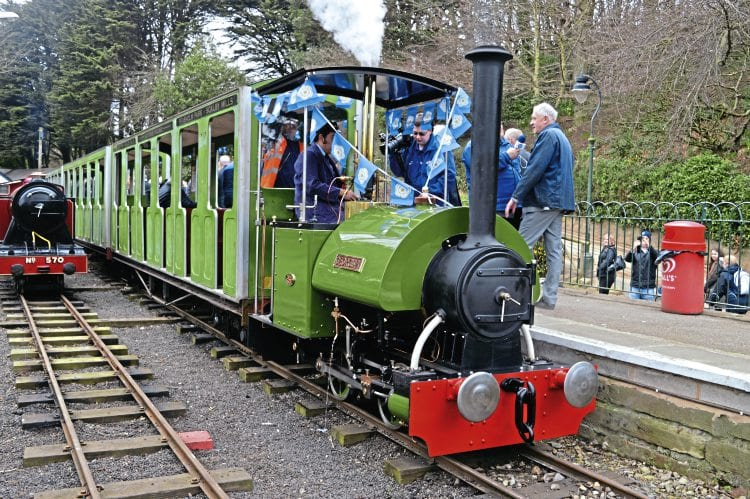 Narrow Gauge new-build at Scarborough – Heritage Railway