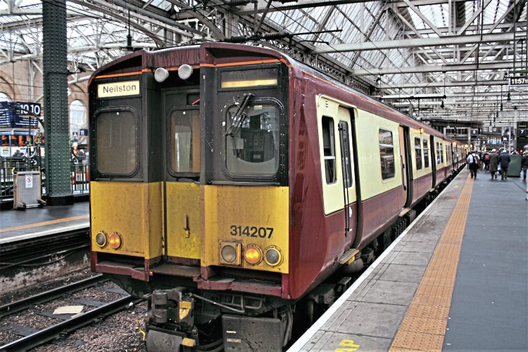 ScotRail Class 314 electric unit to be preserved ...
