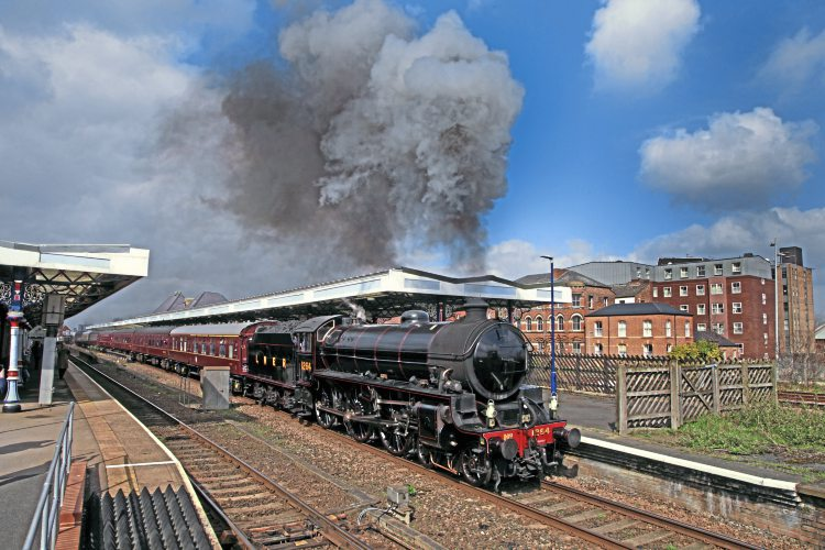 Duke attracts more attention – Heritage Railway