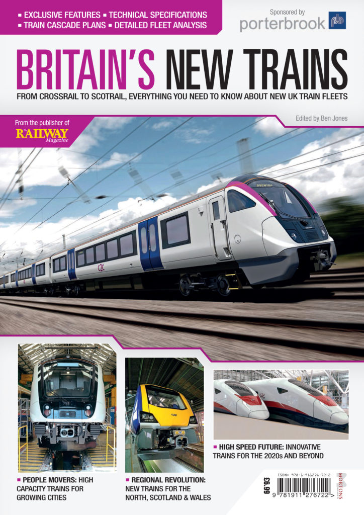 Bookazine – exclusive look at Britain's New Trains! Perfect gift for Christmas!