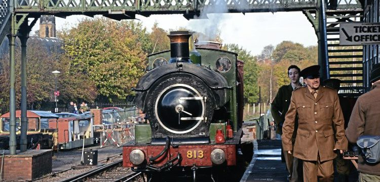 Home from the front – Heritage Railway