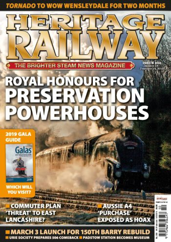 ISSUE 250 – OUT NOW! – Heritage Railway