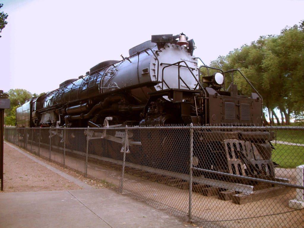 Union Pacific's Big Boy 4014 Steam Locomotive, in Cheyenne, Wyoming, USA