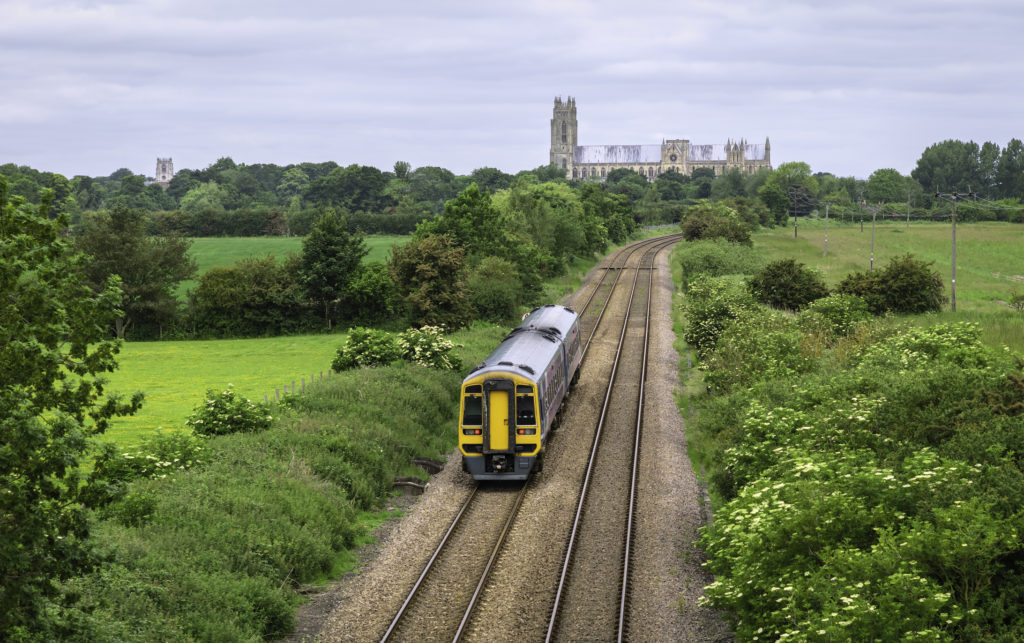 Scenic track in York.