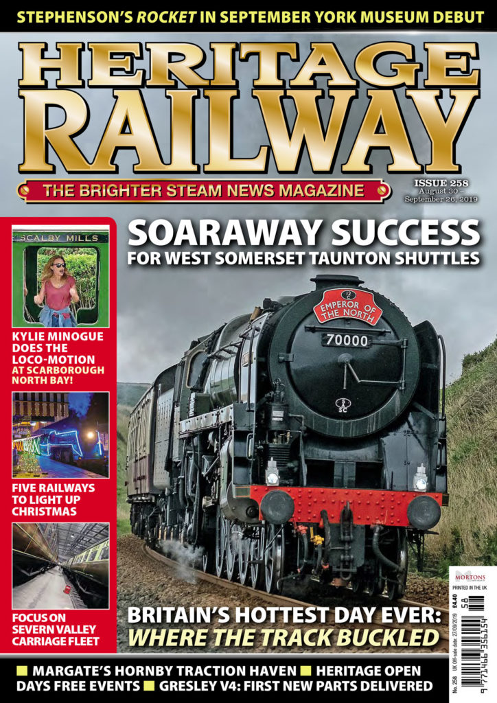 Issue 258 on sale now! – Heritage Railway