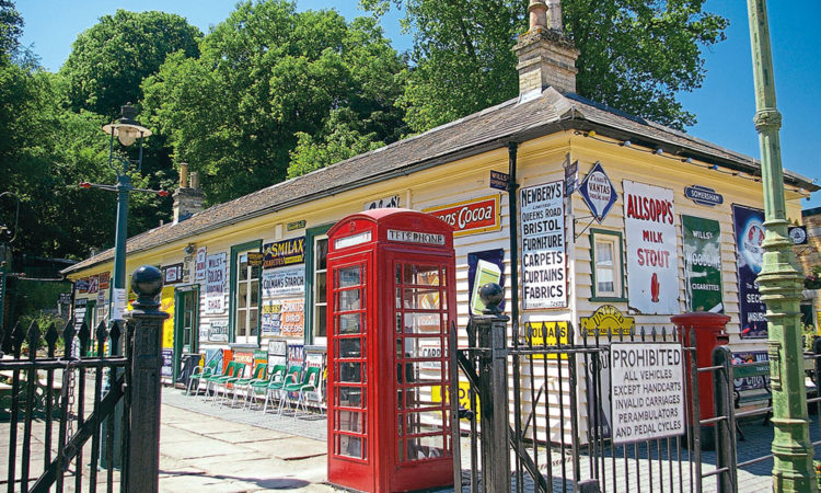 advertising signs were stolen from the late Sir William McAlpine's private Fawley Hill estate