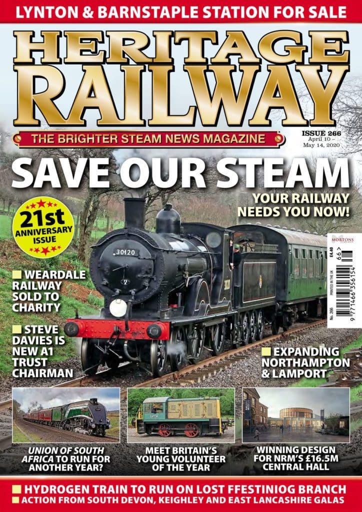 Your railway needs you! Inside issue 266 of Heritage Railway...