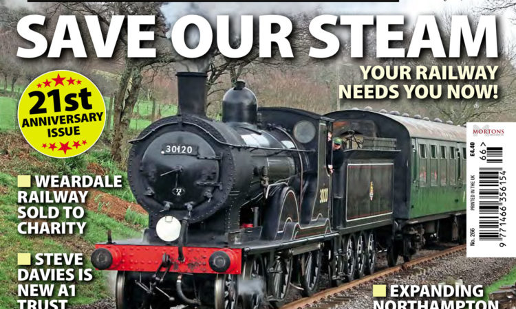 Your railway needs you! Inside issue 266 of Heritage Railway...
