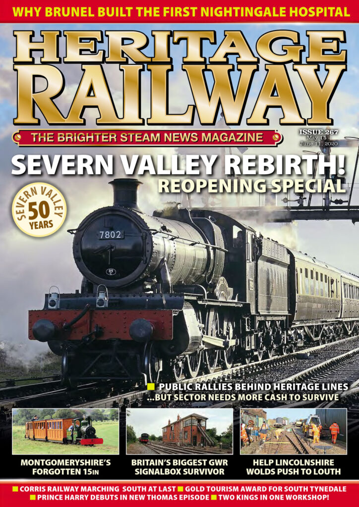 Issue 267 of Heritage Railway