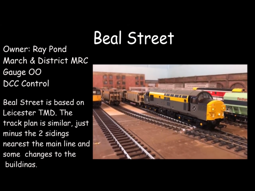 Beal Street OO gauge model layout