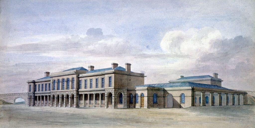 Old York station
