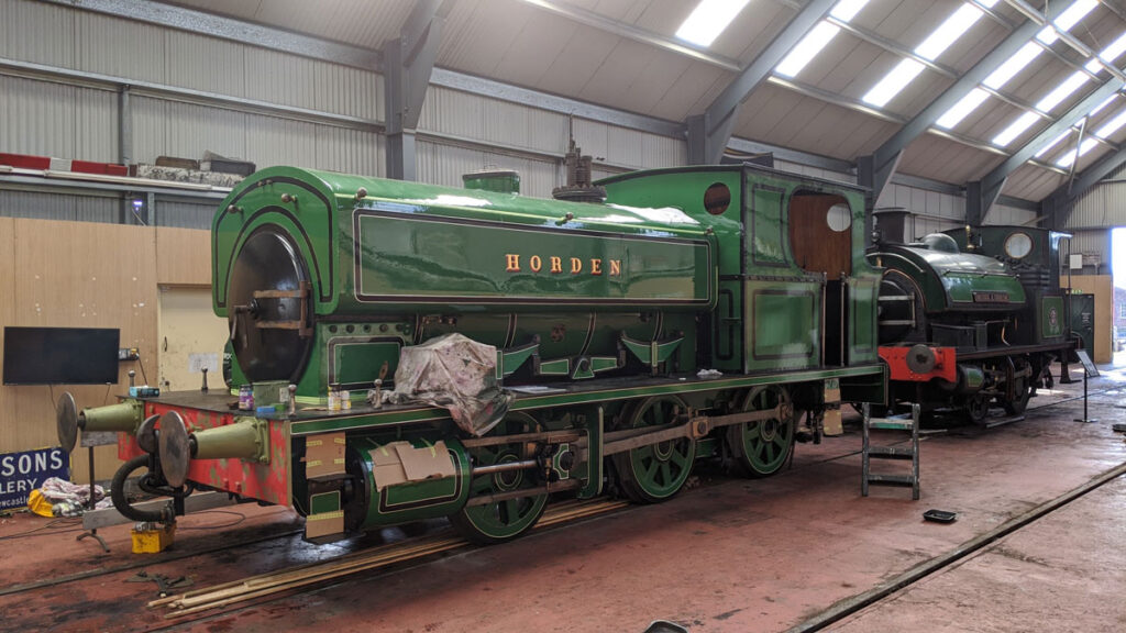 It's not full steam ahead for a 116-year-old steam locomotive as thieves targeting Tanfield Railway.