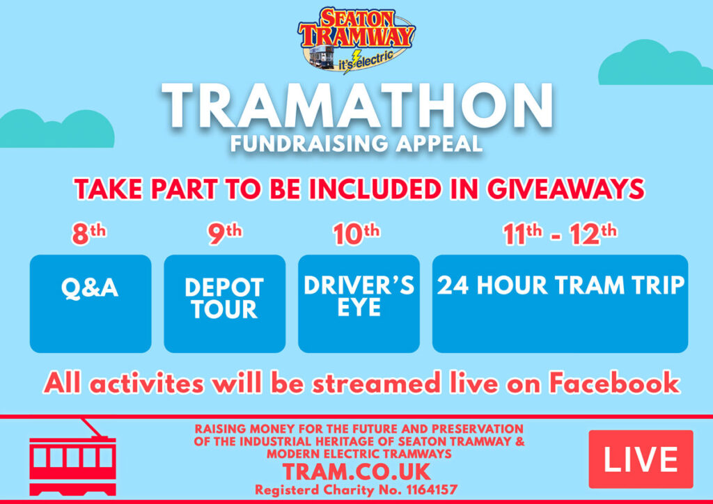 Tramathon fundraising appeal