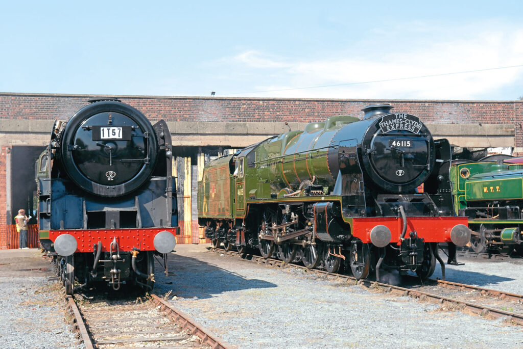 Royal Scot 4-6-0 No. 46115 Scots Guardsman