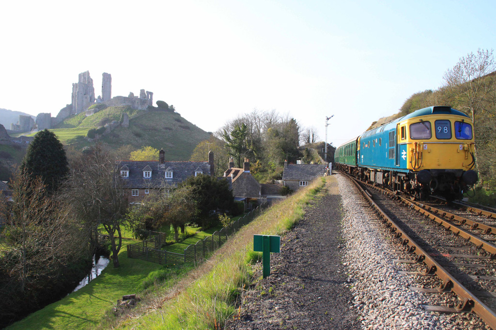 Swanage Railway to reopen with social-distancing measures. Photo: Swanage Railway