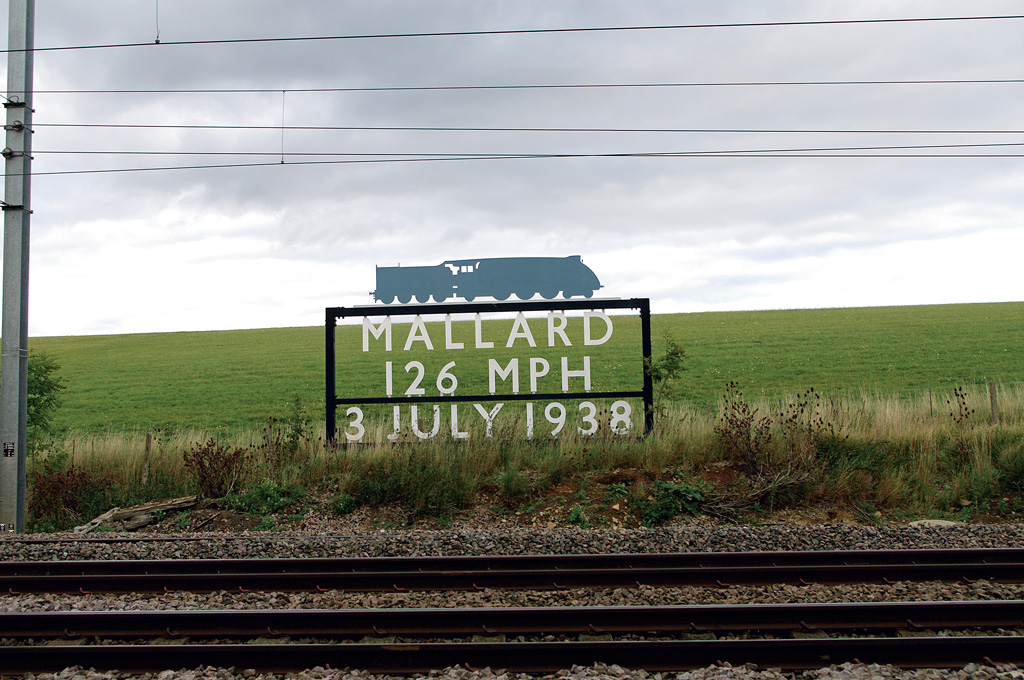 Mallard breaks steam locomotive world speed record