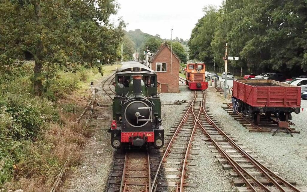 Welshpool railway