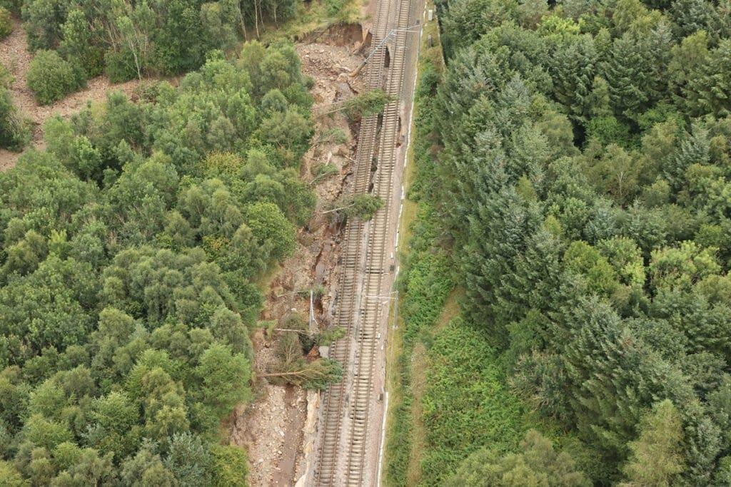 Rail damage