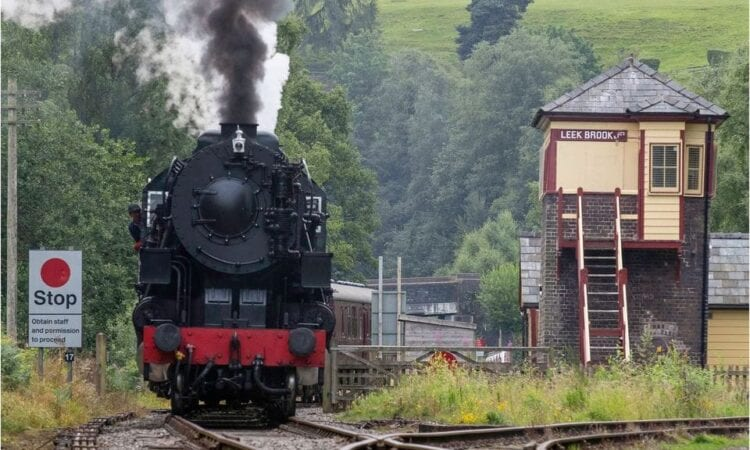 Thieves target Churnet Valley Railway