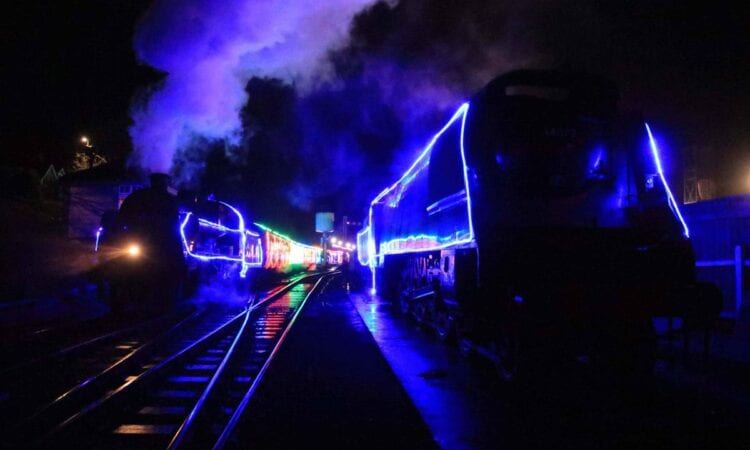 Swanage Railway put on more Steam and Lights trains due to demand