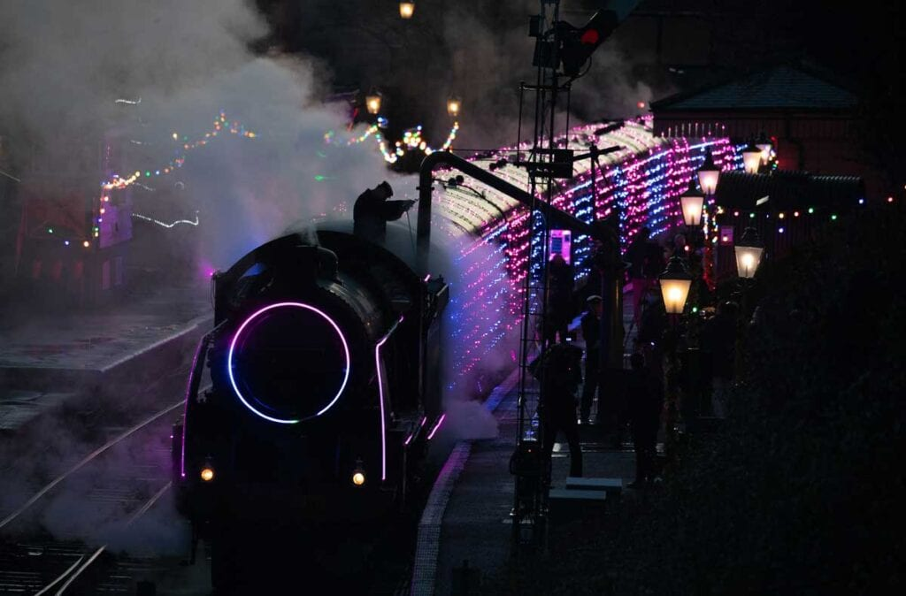 World's first digital LED train opens at Watercress Line