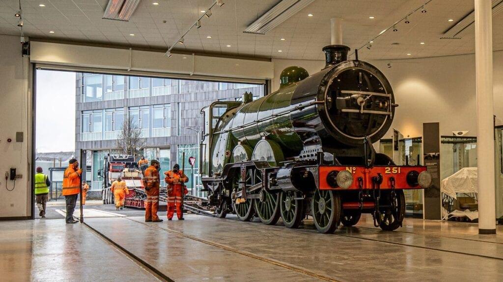 Great Northern Railway 'Atlantic' locomotive No. 251 built at Doncaster Plant