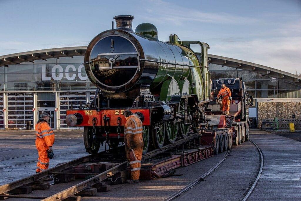 No. 251 locomotive