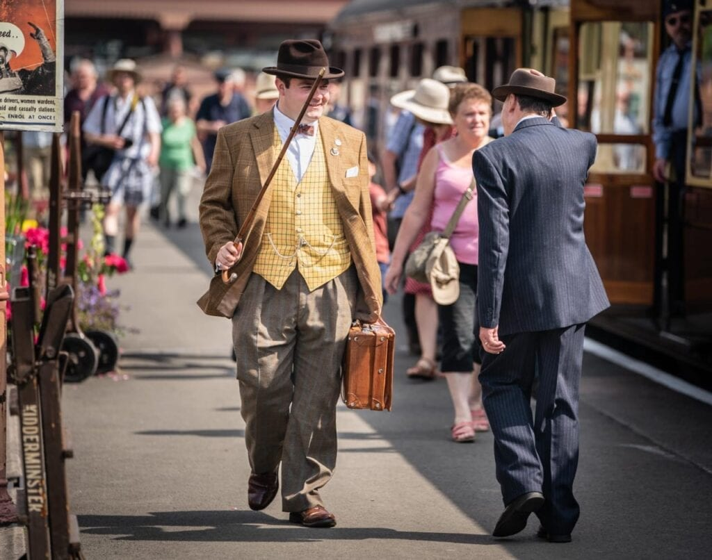 Severn Valley Railway 1940s weekend
