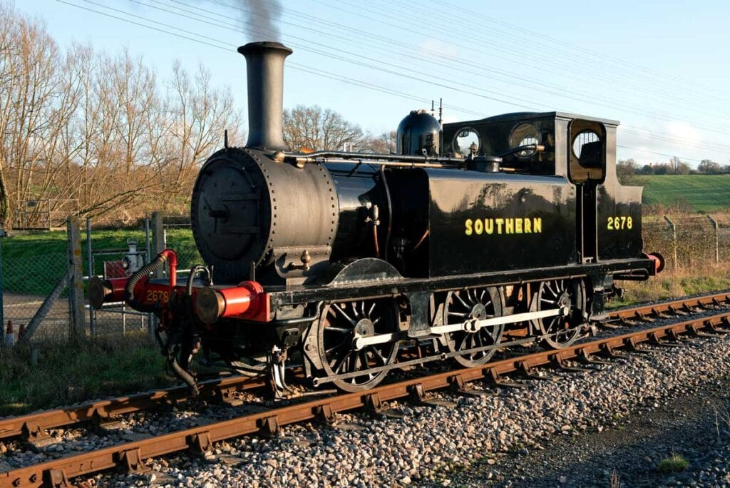 Steam locomotive 'Knowle'
